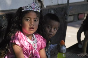Children in Santa Maria, October 30, 2011