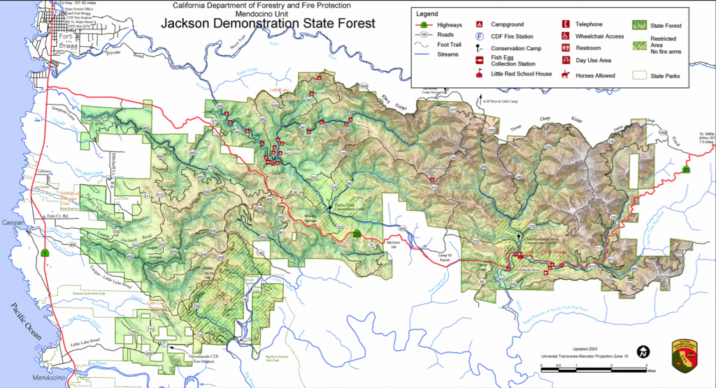 Map of JDSF
