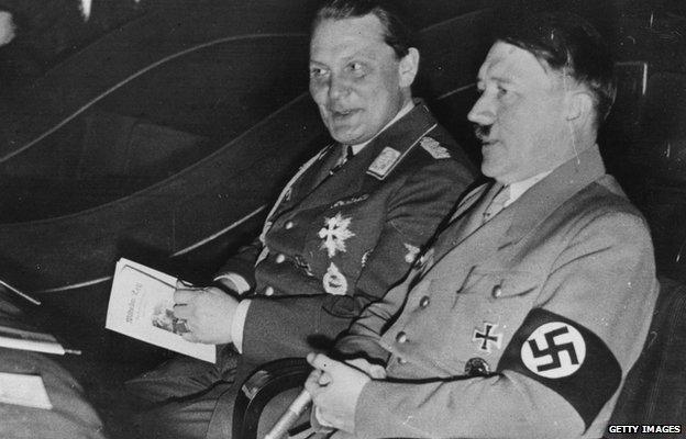Goering & Hitler